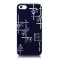 Nillkin Platinum Elegant Hard Cases Skin Covers for iPhone 5S - Jardiniere Blue