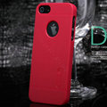 Nillkin Super Matte Hard Cases Skin Covers for iPhone 5S - Rose (High transparent screen protector)