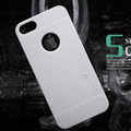 Nillkin Super Matte Hard Cases Skin Covers for iPhone 5S - White (High transparent screen protector)