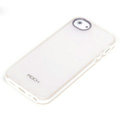 ROCK Joyful free Series Leather Cases Holster Covers for iPhone 5S - White