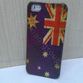 Retro Australia flag Hard Back Cases Covers Skin for iPhone 5S