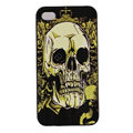 Skull Hard Back Cases Covers Skin for iPhone 5S - Green