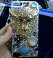 Swarovski crystal cases Bling Cow diamond cover for iPhone 5S - Gold