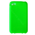 s-mak Color covers Silicone Cases For iPhone 5S - Green