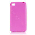 s-mak Color covers Silicone Cases skin For iPhone 5S - Purple