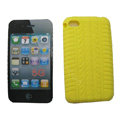 s-mak Silicone Cases covers for iPhone 5S - Yellow