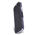 Nillkin Fresh leather Case button Holster Cover Skin for Samsung GALAXY NoteIII 3 - Black