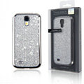 Swarovski Bling Metal Diamond Case Cover for Samsung GALAXY NoteIII 3 - Silver