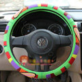 Paul Frank Auto Car Steering Wheel Cover Rubber Cute Diameter 15 inch 38CM - Green