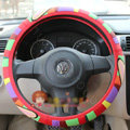 Paul Frank Auto Car Steering Wheel Cover Rubber Cute Diameter 15 inch 38CM - Red