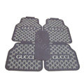 GUCCI Universal Automobile Carpet Car Floor Mats Set Rubber Waterproof 5pcs Sets - Coffee