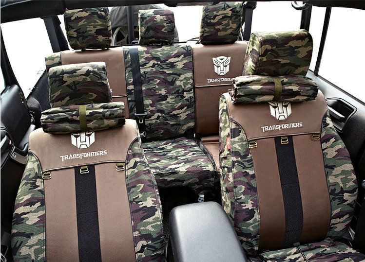 Transformers Autobot Car Seat Covers