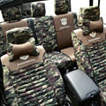 Transformers Autobot Customized Camo Auto Car Seat Covers 10pcs Sets for Jeep Patriot - Green