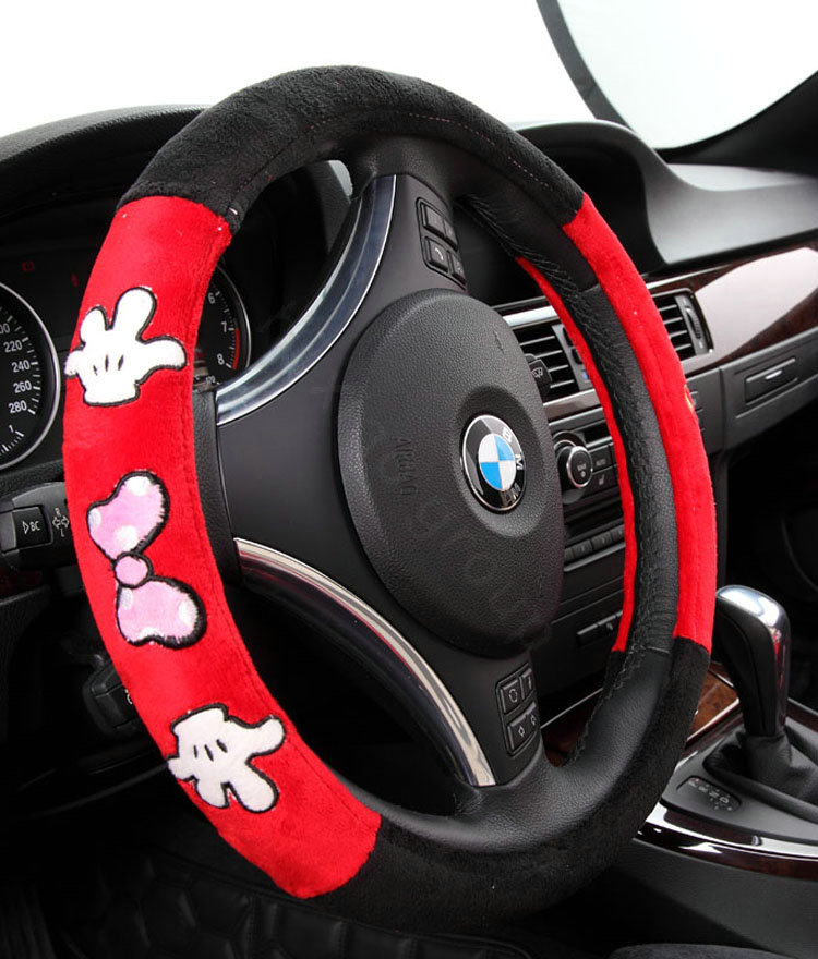 Buy Wholesale Universal Velvet Mickey Minnie Mouse Car