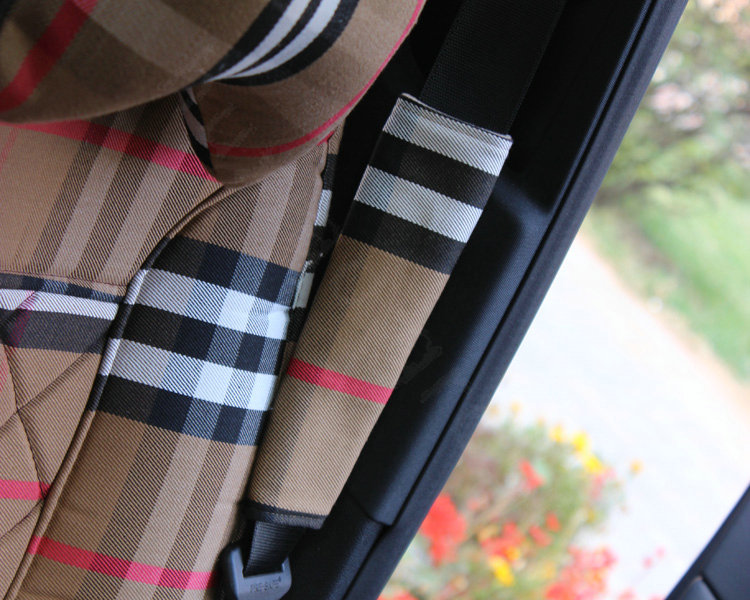 Buy wholesale classic synthetic fiber burberry grid auto - Burberry fabric for car interior ...