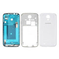 Original Full Set Housing Middle Board Battery Cover for Samsung Galaxy S5 i9600 - White