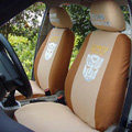 Best Transformers Autobot Universal Cotton Cloth Auto Car Seat Cover 10pcs Sets - Brown