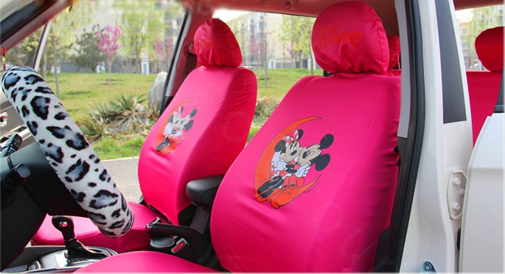 buy wholesale mickey mouse universal car seat covers sets black car seat covers accessories. Black Bedroom Furniture Sets. Home Design Ideas