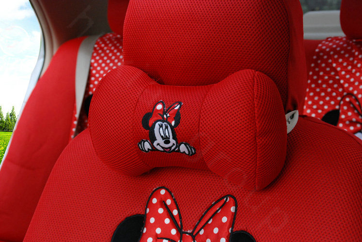 buy wholesale pretty oulilai minnie mouse disney universal automobile car seat cover sandwich. Black Bedroom Furniture Sets. Home Design Ideas