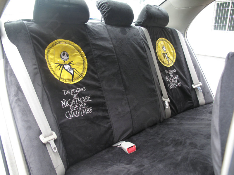 Nightmare-Before-Christmas-Universal-Plush-Velvet-Auto-Car-Seat-Cover ...