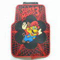Cheapest Super Mario 3 Cute Universal Auto Carpet Car Floor Mats Rubber 5pcs Sets - Red