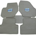 Classic Volvo Auto Logo Tailor-made Carpet Car Floor Mats Rubber 5pcs Sets for Volvo XC60 - Beige