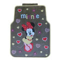 Cute Minnie Mouse Cartoon Universal Automotive Carpet Car Floor Mats Rubber 5pcs Sets - Gray