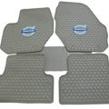 High Quality Volvo Auto Logo Tailor-made Carpet Car Floor Mats Rubber 5pcs Sets for Volvo S80L - Beige
