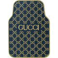 Luxury Gucci Waterproof Universal Auto Carpet Car Floor Mats Rubber 5pcs Sets - Beige