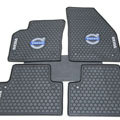 Luxury Volvo Auto Logo Tailor-made Carpet Car Floor Mats Rubber 5pcs Sets for Volvo XC90 - Black