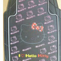Brand Hello Kitty Cartoon Cute Universal Auto Carpet Car Floor Mats Rubber 5pcs Sets - Black