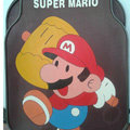 Cute Super Mario Cartoon Hammer Universal Automobile Carpet Car Floor Mats Rubber 5pcs Sets - Brown