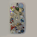 Bling Swarovski crystal cases Cat diamond cover for iPhone 6 - Blue