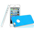 IMAK Matte double Color Cover Hard Case for iPhone 6 - Blue (High transparent screen protector)