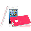 IMAK Matte double Color Cover Hard Case for iPhone 6 - Rose (High transparent screen protector)