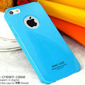 Imak ice cream hard cases covers for iPhone 6 - Blue (High transparent screen protector)