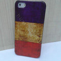 Retro France flag Hard Back Cases Covers Skin for iPhone 6