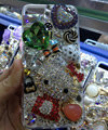 Swarovski crystal case Bling Hello kitty diamond cover for iPhone 6 - Red