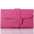 Classic Hermes High Quality Leather Flip Cases Holster Covers For iPhone 6 Plus - Rose