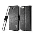 IMAK Slim leather Case support Holster Cover for iPhone 6 Plus - Black