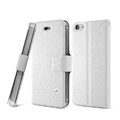 IMAK Slim leather Case support Holster Cover for iPhone 6 Plus - White