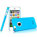 IMAK Ultrathin Matte Color Covers Hard Cases for iPhone 6 Plus - Blue (High transparent screen protector)