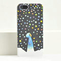 Ultrathin Matte Cases Snow girl Hard Back Covers for iPhone 6 Plus - Black