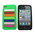 s-mak Rainbow Silicone Cases covers for iPhone 6 Plus