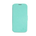 Nillkin Fresh leather Case button Holster Cover Skin for Samsung Galaxy Note 4 N9100 - Green