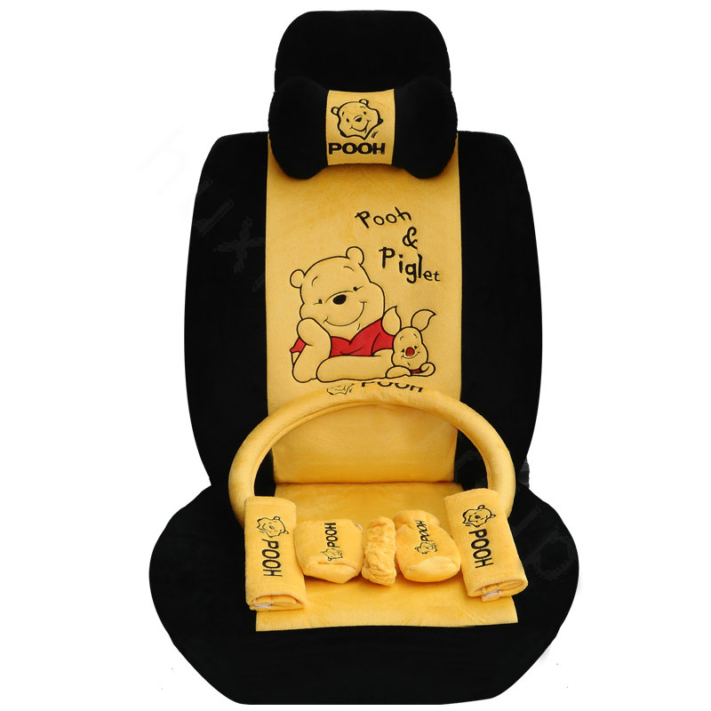 Winnie The Pooh Car Seat Cover Set