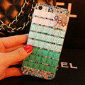 Funky Swarovski Bling Rhinestone Case Umbrella Diamond Cover for iPhone 6 - Green