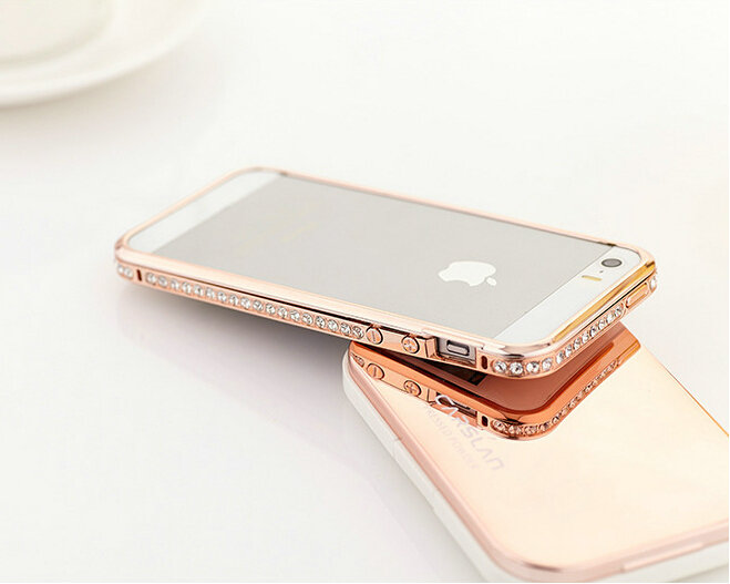 Rose Gold Metal For Iphone 6 Rose Gold