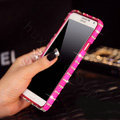 Swarovski Bling Metal Bumper Frame Case Diamond Cover for Samsung GALAXY S4 I9500 SIV - Rose