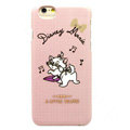 Brand Marie Cat Covers Plastic Back Cases Cartoon Cute for iPhone 6 Plus 5.5 - Pink